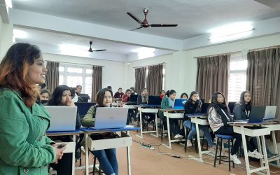 GCA conducts Cloud Computing training at Girl-To-Code (LOCUS 2020) as a training partner
